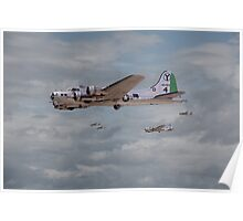 B17 - 15th AF - B17s in Italy Poster