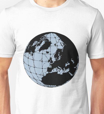 World Web (blue) Unisex T-Shirt