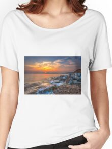 Rocky Point Sunset Women's Relaxed Fit T-Shirt