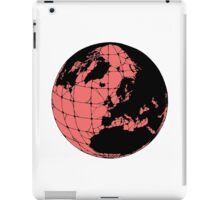 World Web (pink) iPad Case/Skin