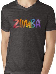 Zumba Powder Paint Mens V-Neck T-Shirt