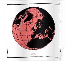 World Web (pink) Poster