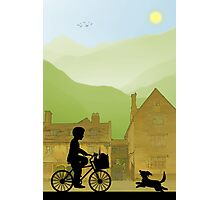 Childhood Dreams, Special Delivery Photographic Print