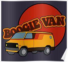 Boogie Van Poster