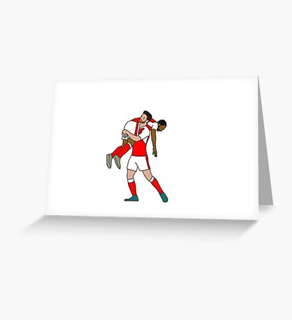 Mustafi Celebrates with Walcott Greeting Card