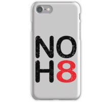 NO HATE -NOH8 iPhone Case/Skin