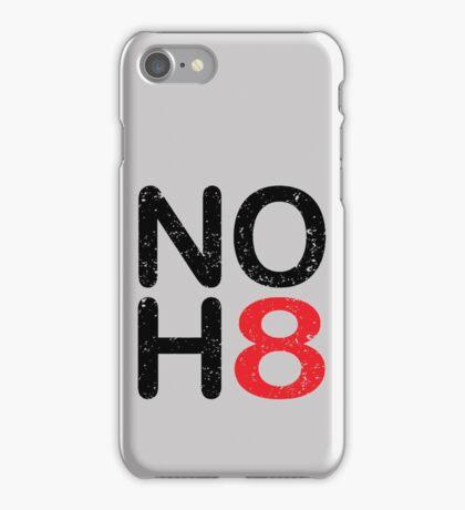 NO HATE -NOH8 iPhone Case/Skin