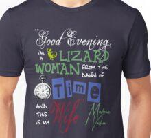 Madame Vastra Quote Unisex T-Shirt