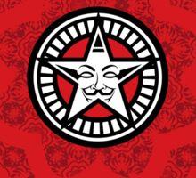 Disobey Red Propaganda Obey Shirt Patter V for Vendetta Design Sticker