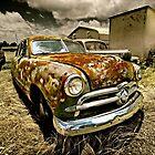 Abandoned 1949 Ford  Custom - Shoebox by mal-photography