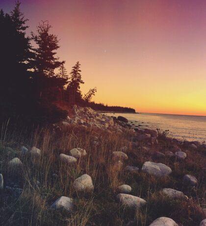 Seaside Sunset Sticker