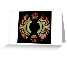 Empire Strikes Back - Carbon Freezing Chamber Greeting Card