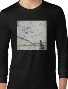 Watership Down Encaustic Long Sleeve T-Shirt