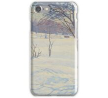 CARL JOHANSSON, winter iPhone Case/Skin