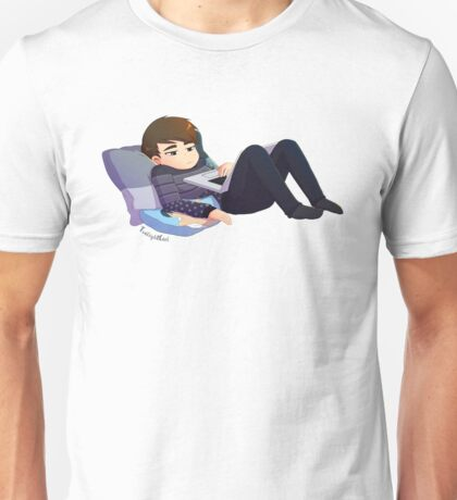 Browsing Position Unisex T-Shirt