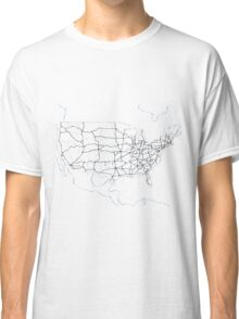 United States of America (blue) Classic T-Shirt