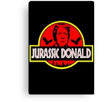 Jurassic Donald Canvas Print