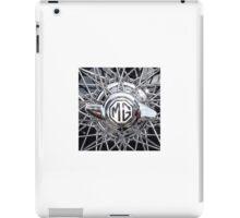 Vintage MG wheel art iPad Case/Skin
