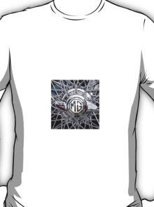 Vintage MG wheel art T-Shirt