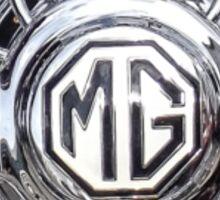 Vintage MG wheel art Sticker