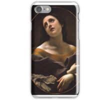 Carlo Dolci - Allegory of Patience iPhone Case/Skin