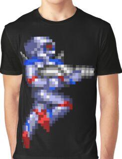 Turrican Pixel Art Graphic T-Shirt