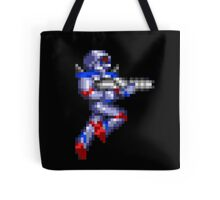 Turrican Pixel Art Tote Bag