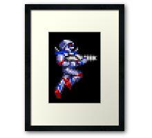 Turrican Pixel Art Framed Print