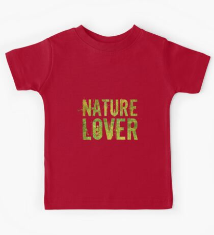 Nature Lover Kids Tee