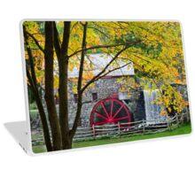 Sudbury Grist Mill in the Fall Laptop Skin