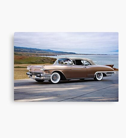 1958 Cadillac Eldorado Biarritz Canvas Print