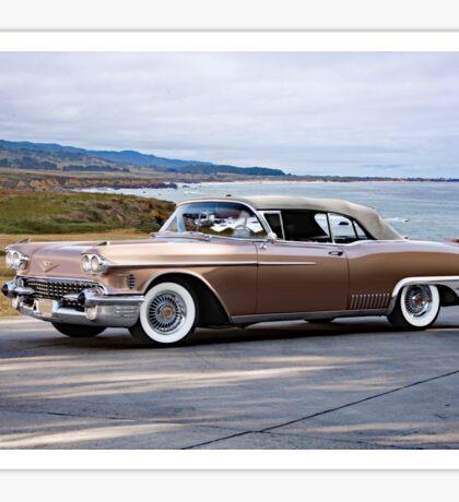 1958 Cadillac Eldorado Biarritz Sticker