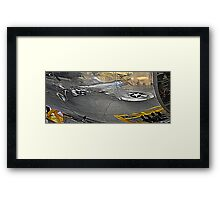 Glorious Reflections of a Thunderbolt Framed Print