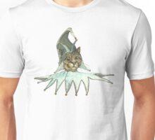 Clown Cat In Green Hat Unisex T-Shirt