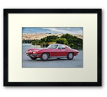 1963 Cheverolet Corvette Stingray Framed Print