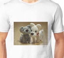 Little Crochet Puppy Dogs Unisex T-Shirt