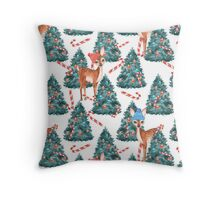 Look to Fawns Throw Pillow