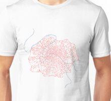 Fleur de Paris (pink) Unisex T-Shirt