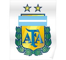 logo foot ball argentina Poster