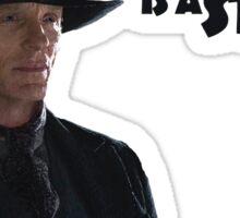 The Man in Black Westworld Sticker
