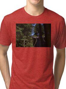 Swiss Funicular Railway Tri-blend T-Shirt