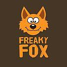 Funny cute Freaky Fox by badbugs