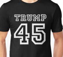 President Donald Trump 45 Shirt Faux Jersey 45th US America  Unisex T-Shirt