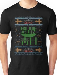 Firefly Blue sun ugly christmas variant T-Shirt  Unisex T-Shirt