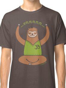 Om Yoga Sloth Classic T-Shirt