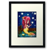 Midsummer Night Framed Print