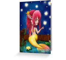 Midsummer Night Greeting Card