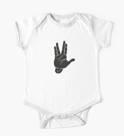 Spocks Hand Galaxy Kids Clothes