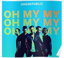 ONE REPUBLIC OH MY BLUE HALIM Poster