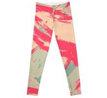 Hot Pink Peaches Leggings